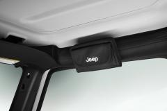 Sonnenbrillenhalter mit Jeep-Logo