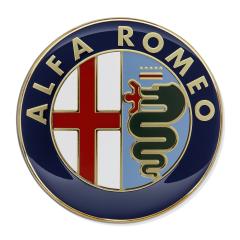 Alfa Romeo-Emblem Motorhaube für Alfa Romeo