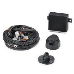 Elektrische Verkabelung für Anhängerkupplung 7/13-polig für Fiat und Fiat Professional Qubo