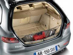 Gepäcknetz für den Kofferraum für Alfa Romeo 159