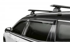 Windabweiser für die vorderen und hinteren Fenster