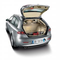 Trennnetz für den Transport von Tieren für Alfa Romeo 159