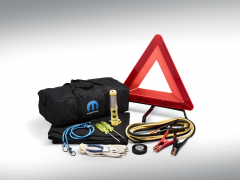 Notfall-Set mit Mopar-Logo für Fiat 124 Spider