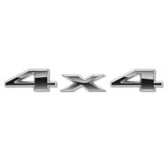 Schriftzug 4X4 hinten