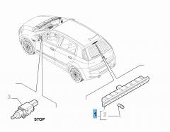 Rückleuchte (drittes Bremslicht)