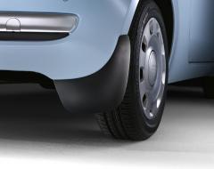 Schmutzfänger hinten aus Gummi für Fiat 500
