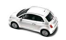 Autoaufkleber Rom-Stadt für Fiat 500