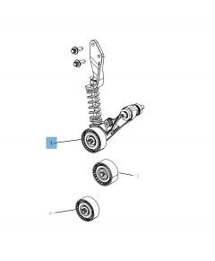 Einstellbarer Riemenspanner für Jeep Compass/Patriot