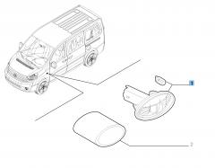 Seitlicher Fahrtrichtungsanzeiger für Fiat Professional Scudo