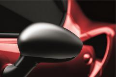 Spiegelkappen, Chrom satiniert für Alfa Romeo 4C