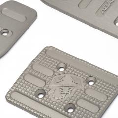 Set Sportpedale aus Aluminium für Automatikgetriebe