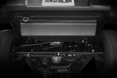 Schutzplatte für Lenkung und Stabilisator
