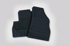 Gummi-Fußmatten für Fiat Professional Fiorino