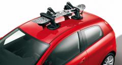 Magnetischer Ski- und Snowboardträger für das Autodach für Fiat