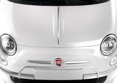 Verchromter Schutz an vorderer Stoßstange für Fiat 500