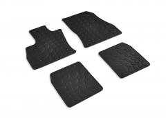 Gummi-Fußmatten mit 500-Logo