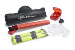 Notfall-Set mit Warndreieck und reflektierender Warnweste für Alfa Romeo Giulietta