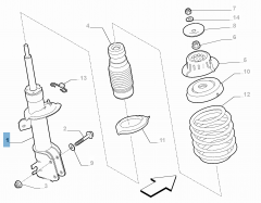 STOSSDÄMPFER (Essential Part)