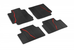 Gummi-Fußmatten für 4X4-Version