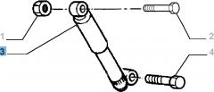 Stoßdämpfer hinten, 2 Stk. - 2 Stk. für Fiat Professional Strada