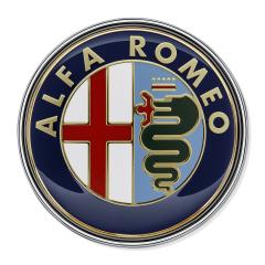 Alfa Romeo-Emblem hinten für Alfa Romeo 159