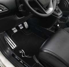 Set zeitgesteuerter Leuchten für unter dem Armaturenbrett für Lancia Ypsilon