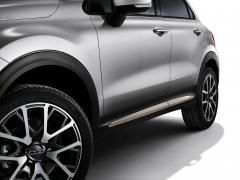 Beige Seitenabschlüsse für Türen für Fiat 500X