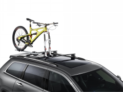 Fahrradträger auf Dachträgern