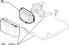 Einspritzsteuergerät für Alfa Romeo GTV und Spider (1995-98)