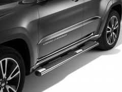 Verchromte Klapptritte, seitliche Trittbretter unterhalb der Tür für Jeep Grand Cherokee