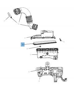 Motorluftfilter für Jeep Compass/Patriot
