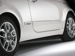 Stoßfängerleiste Seitenschutz für Fiat 500