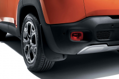 Schmutzfänger hinten, profiliert für Jeep Renegade