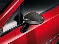 Spiegelkappen Carbon-Look für Fiat