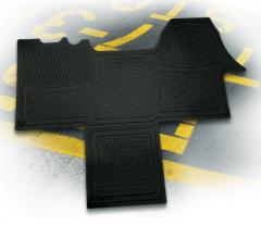 Gummi-Fußmatten für Fiat Professional Ducato