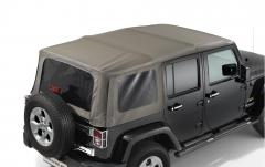 Sunrider Klappverdeck für Soft Top-Version mit 2 Türen