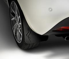 Schmutzfänger hinten aus Gummi für Lancia Ypsilon