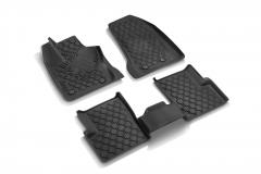 Gummi-Fußmatten mit Jeep-Logo