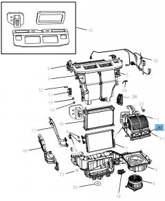 Innenraumluftfilter für Lancia Voyager