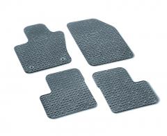 Gummi-Fußmatten mit 500-Logo ohne Knöpfe Beifahrerseite ab Fahrgestellnummer Zfa3340000P753303