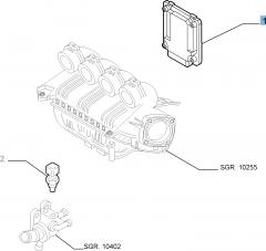 Einspritzsteuergerät für Alfa Romeo GT (2003-2010) - 2.0 CC JTS