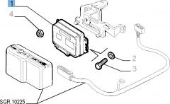 Einspritzsteuergerät für Alfa Romeo GTV Restyling '98 und Spider Restyling '98