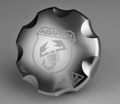 Öldeckel aus Aluminium für Abarth 500