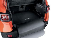 Wende-Kofferraummatte mit Schutzband