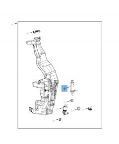 Pumpe der Scheibenwaschanlage für Jeep