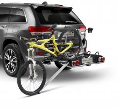 Laderampe für Pkw-Fahrradträger