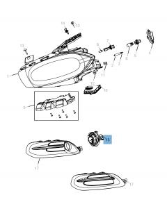 Nebelscheinwerfer für Jeep Compass/Patriot
