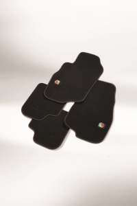 Satz Velours-Fußmatten für Abarth 500