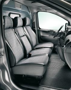Schutzbezug für den Fahrersitz für Fiat Professional Scudo