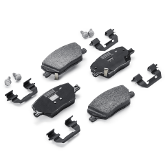 Bremsbelag vordere Scheibenbremse (Set 4 Stk.) für Fiat und Fiat Professional